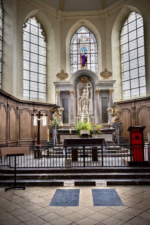 Abadia do Saint Pierre de Hautvillers france fotos de stock royalty free