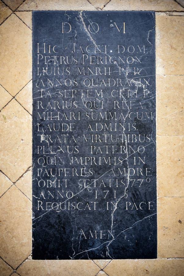 Abadia do Saint Pierre de Hautvillers france imagem de stock royalty free
