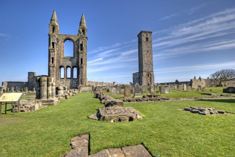 Abadia do St Andrews fotos de stock royalty free