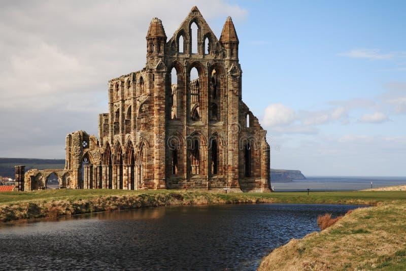 A abadia em Whitby fotos de stock royalty free
