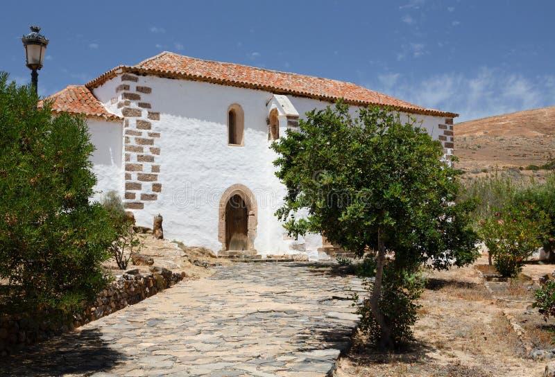 Abadia Franciscan de San Buenaventura, Betancuria, Fuerteventura imagem de stock royalty free