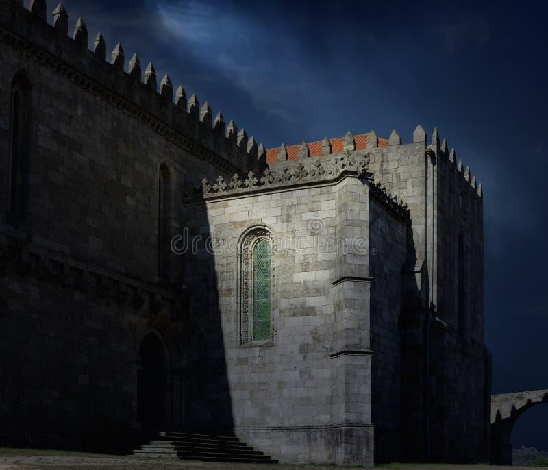 Abadia medieval de Santa Clara foto de stock