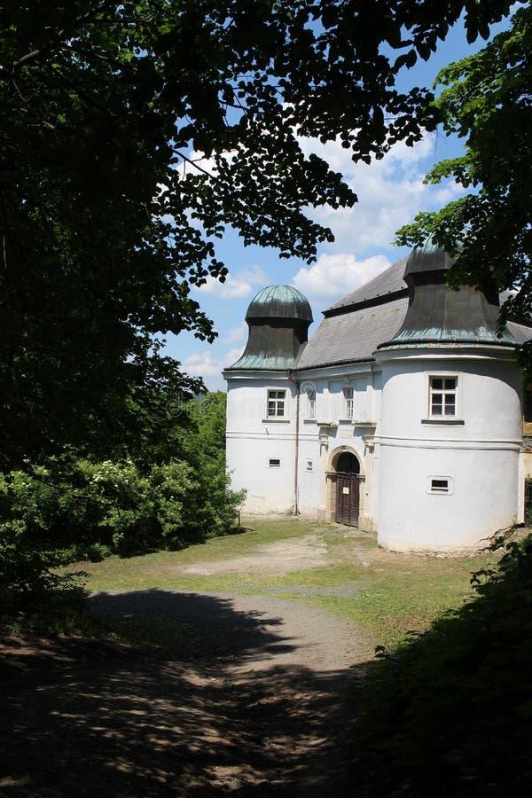 Abaissez le château dans Fulnek photographie stock libre de droits
