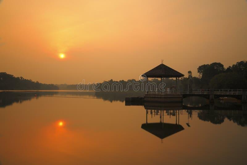 Abaissez Pierce Reservoir 1 photo stock