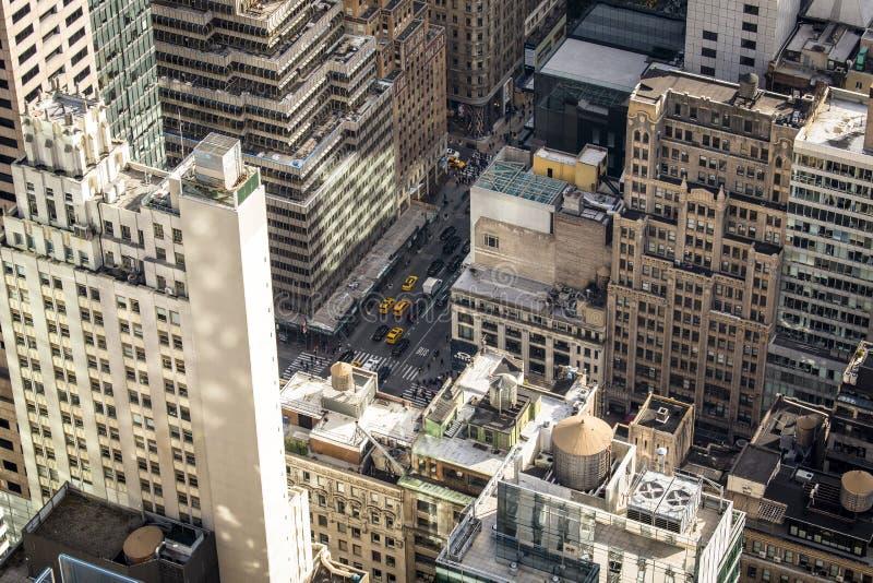 Abaixe manhattan New York fotografia de stock royalty free