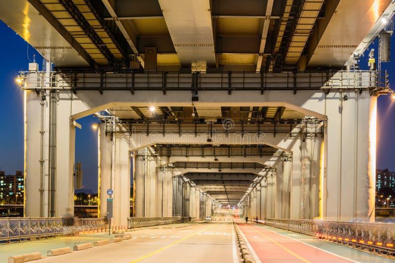 Abaixe a ponte da ponte fotos de stock