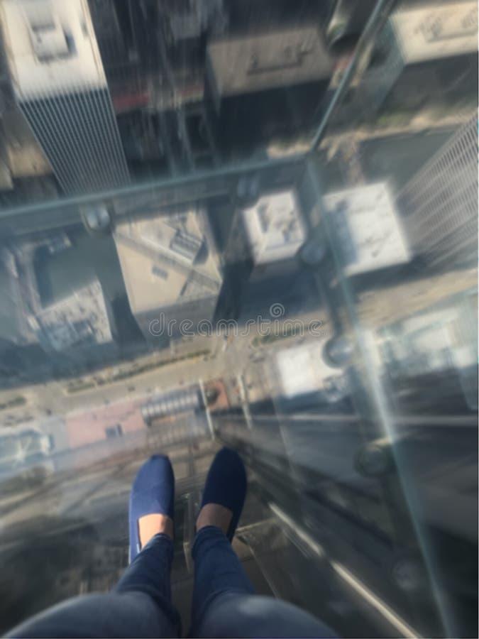 abajo d'edificio photo libre de droits