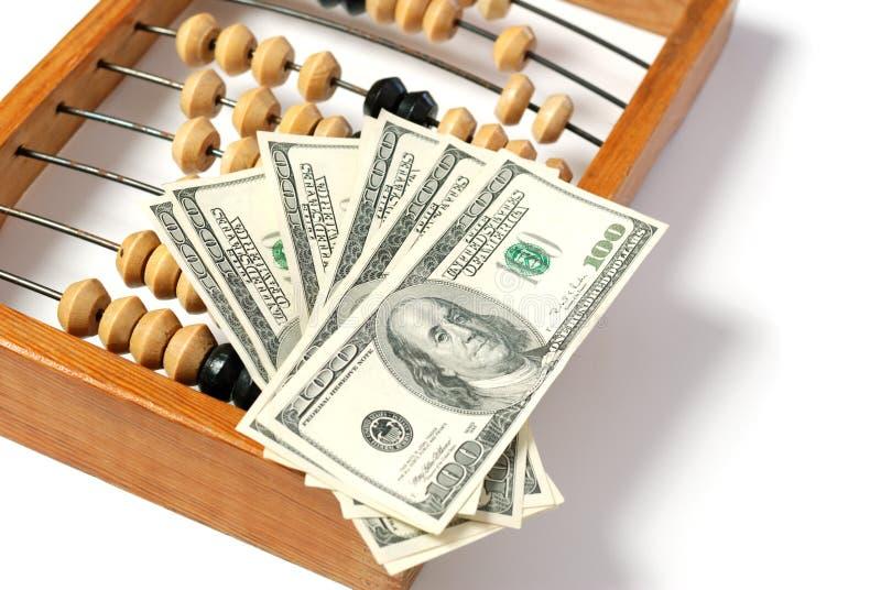 abakusa dolar obraz royalty free