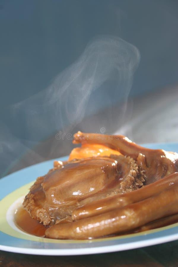 Abalone en eendvoeten stock fotografie