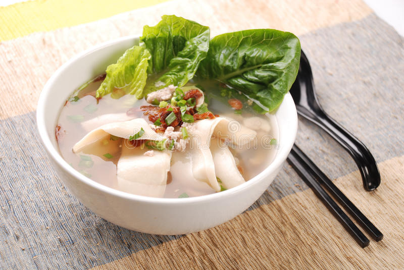 Abalone Soup. Abalone - In Chinese, abalone are commonly known as bao yu . Similar to shark fin soup or birds nest soup, it is considered a symbol of wealth and royalty free stock photo