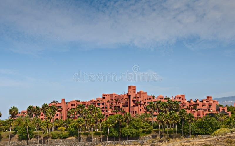 Abama hotel stock photography
