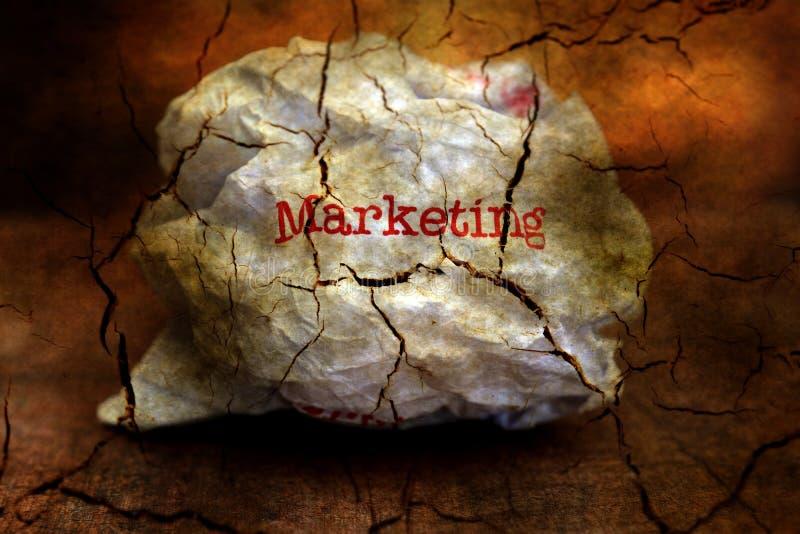 Abandon marketing grunge concept. Close up of Abandon marketing grunge concept royalty free stock photography