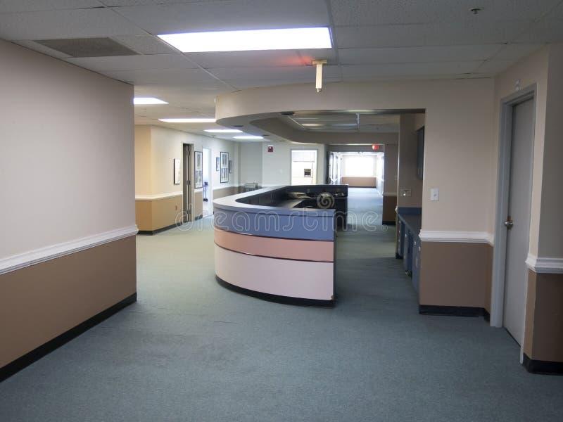 Abandon Station. Abandon nurses station due to a shortage on staff stock photos