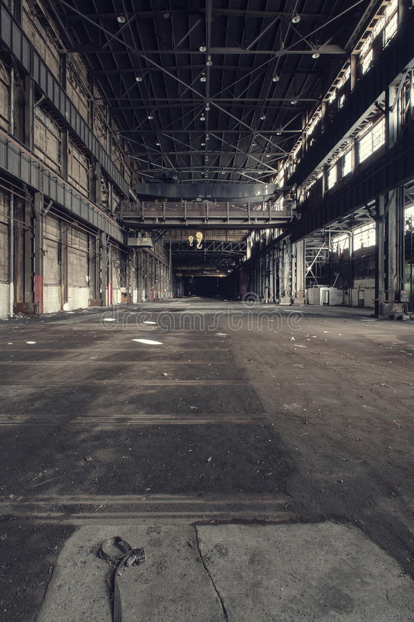 Abandonado destete la fábrica unida - Youngstown, Ohio foto de archivo