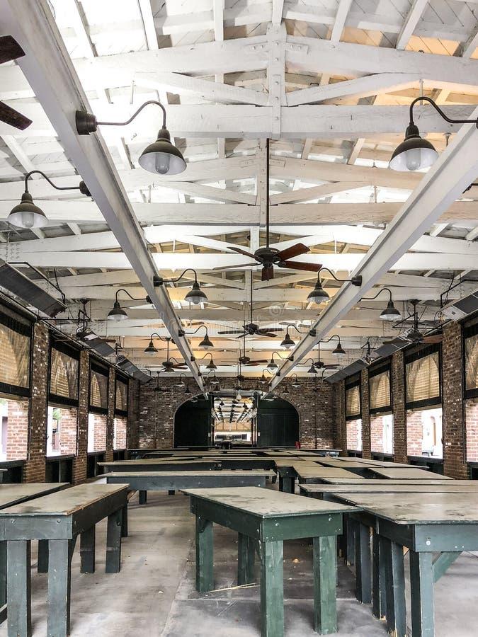 Abandonado el mercado de Charleston imágenes de archivo libres de regalías