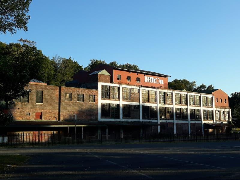 Abandonato Hilton immagine stock