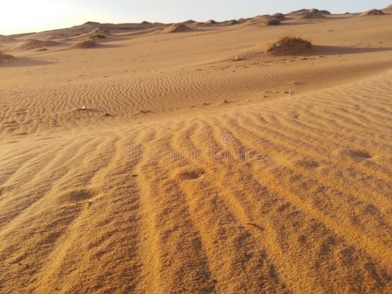 Abandone a areia foto de stock