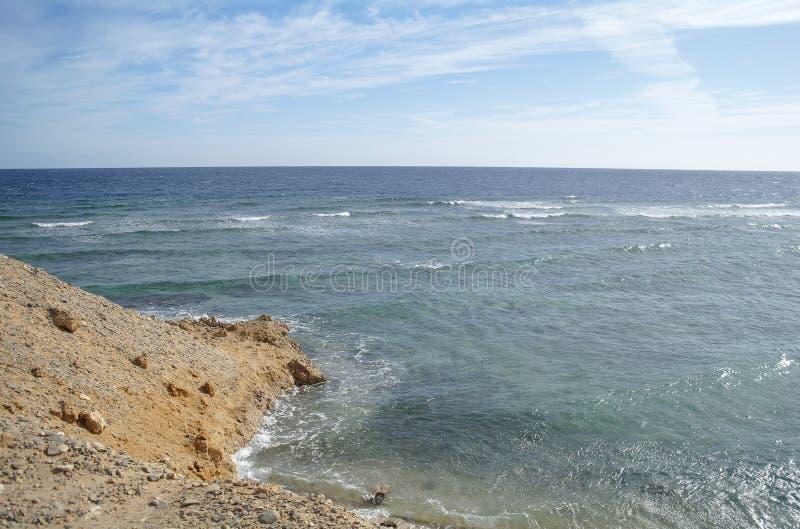 Abandone a baía na região do Mar Vermelho, Egito fotos de stock royalty free