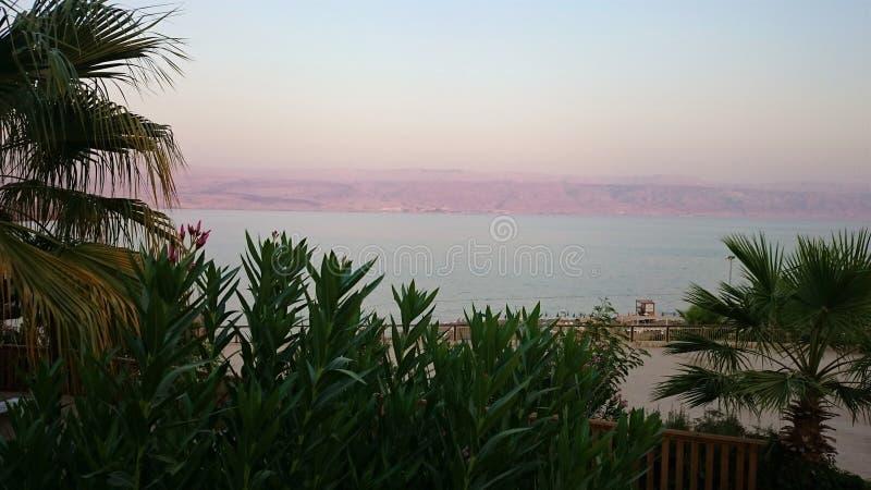 Abandone a paisagem de Israel, Mar Morto, Jordânia fotografia de stock royalty free