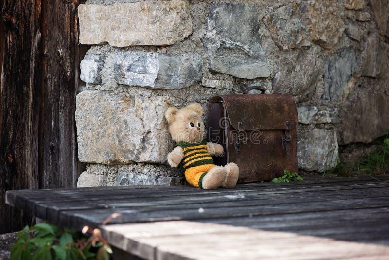 Abandoned, Alone, Bag royalty free stock photo