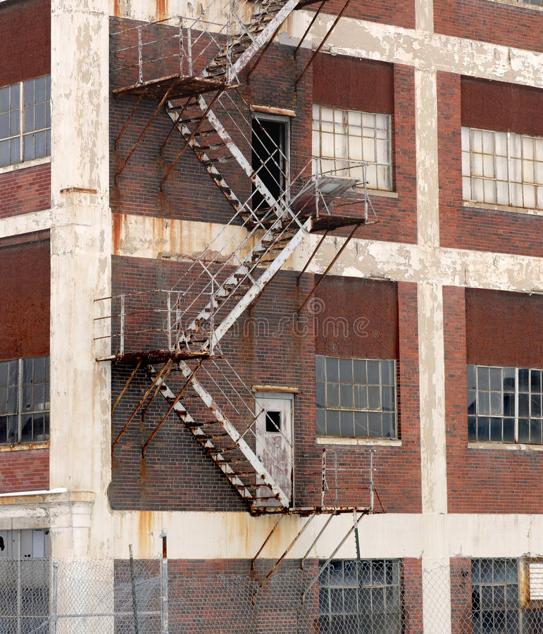 Download Abandoned american factory stock photo. Image of grungy - 18107582