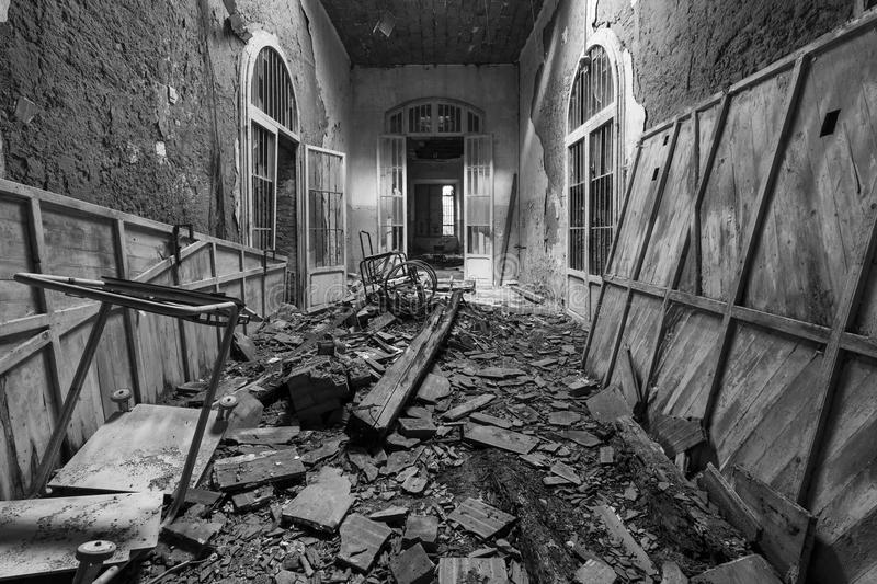 Abandoned Asylum royalty free stock photo
