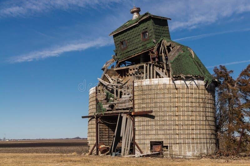 Abandoned barn. royalty free stock photos