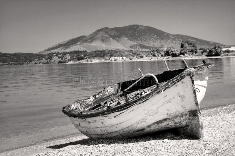 Abandoned Boat Royalty Free Stock Image