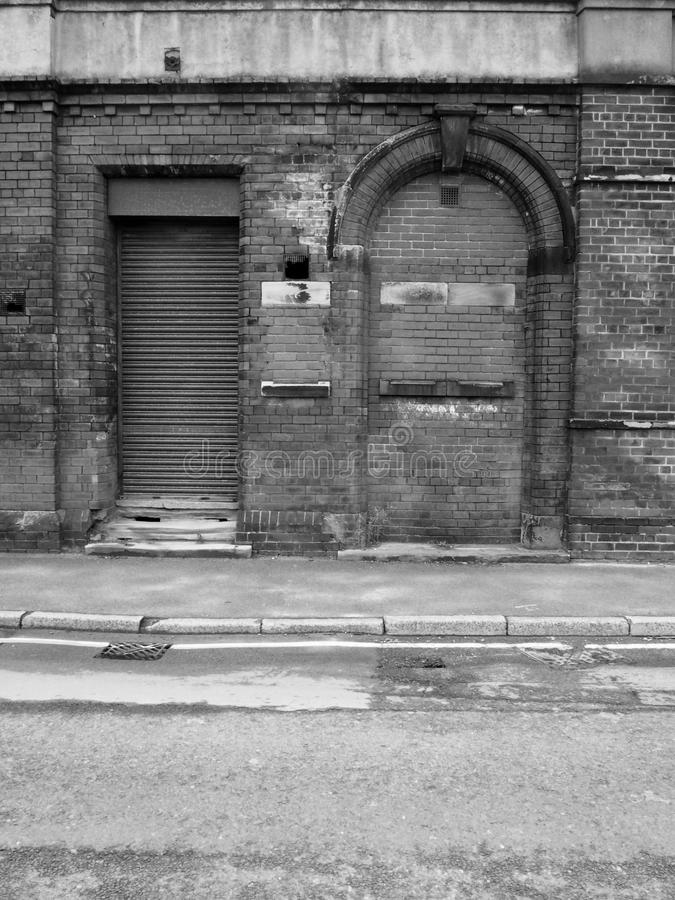 Download Abandoned Brick Building With Bricked Up Door Stock Image - Image of failure building & Abandoned Brick Building With Bricked Up Door Stock Image - Image of ...