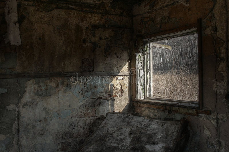 Abandoned building royalty free stock image