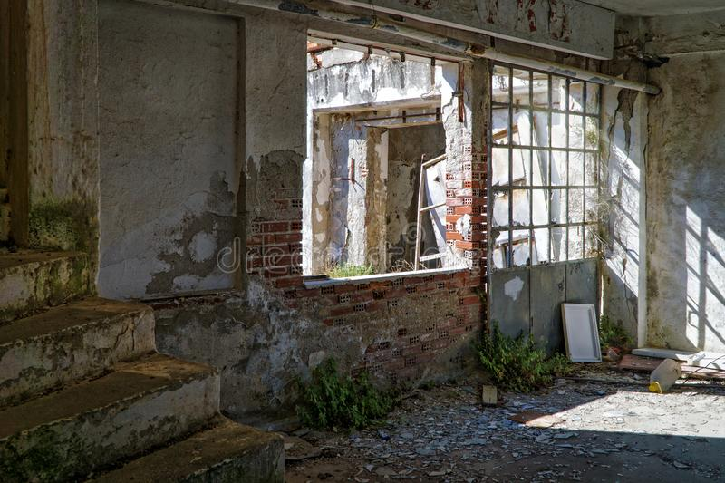 Abandoned, Building, Architecture royalty free stock images