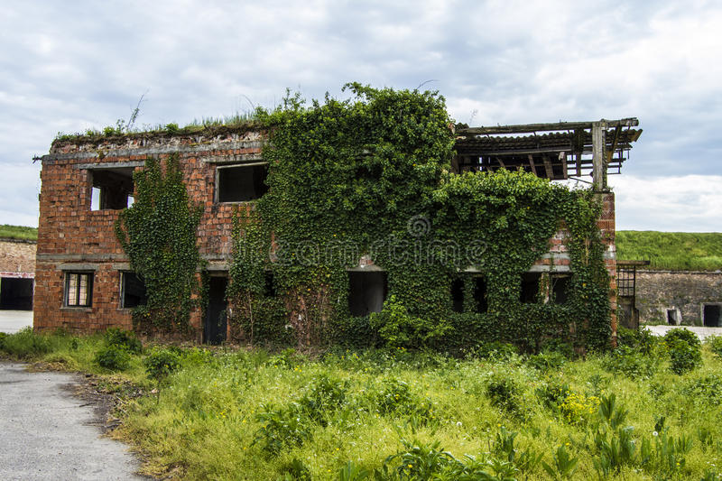 Abandoned building royalty free stock photos