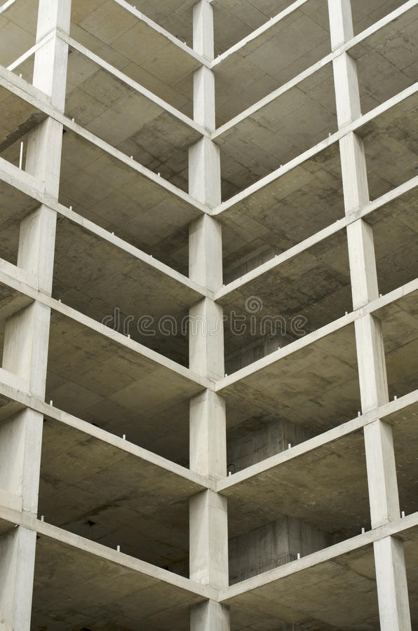 Abandoned Building Work royalty free stock photography