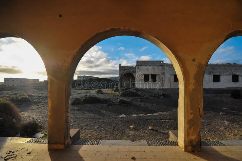 Download Abandoned Buildings stock image. Image of buildings, broken - 36951373