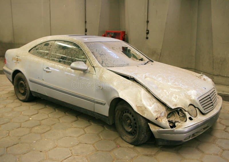 Download Abandoned car stock photo. Image of junkyard, bent, broken - 8144784