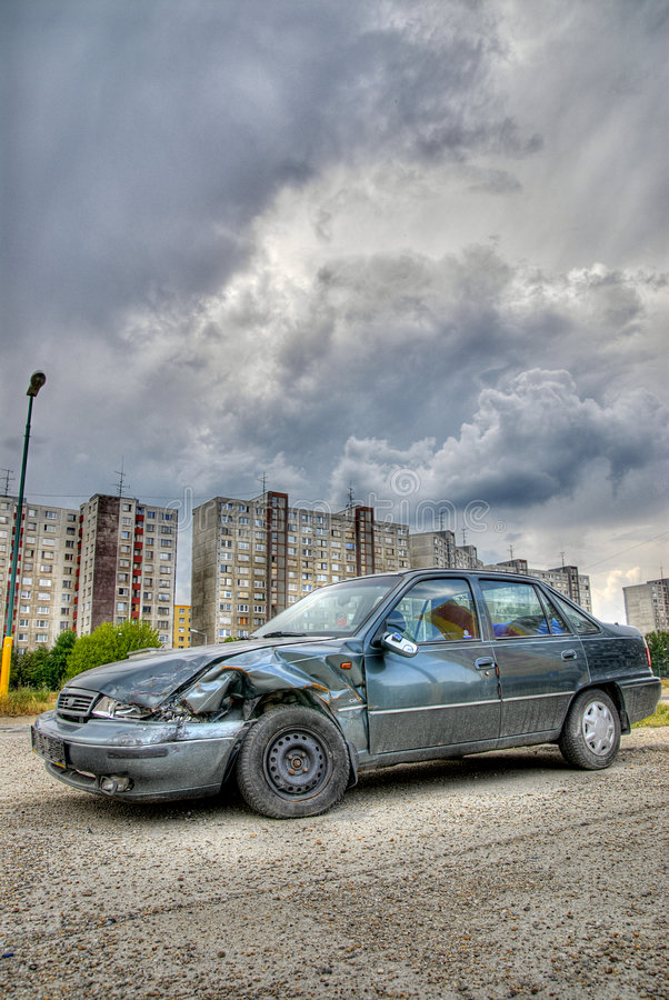 Free Abandoned Car- HDR Image Royalty Free Stock Photos - 2599038
