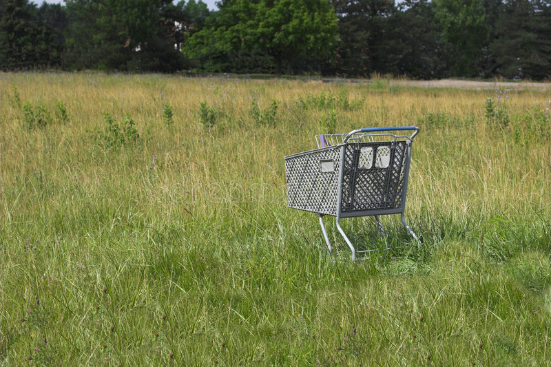 Download Abandoned Cart stock photo. Image of filed, abandoned, carry - 163364