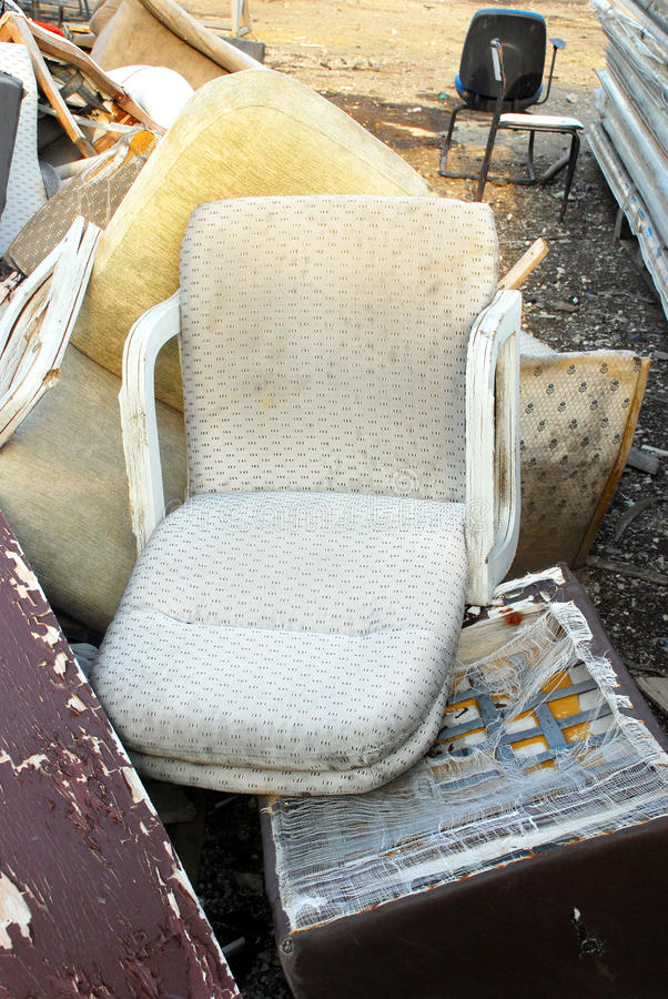 Download Abandoned Chairs Royalty Free Stock Photography - Image: 15627177