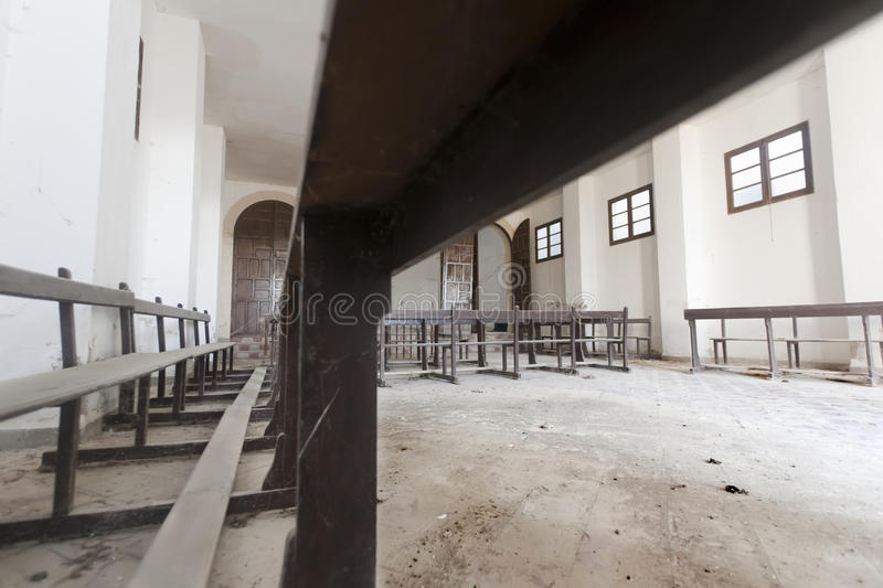 Abandoned church stock photography