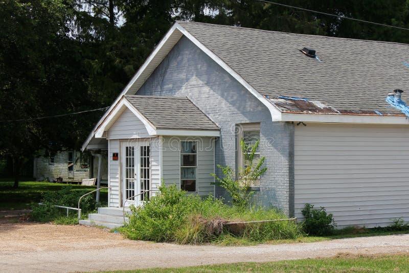 Louisiana Abandoned Church royalty free stock images