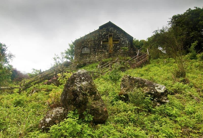 Download Abandoned Church On Rainy Day Stock Photo - Image: 20718684