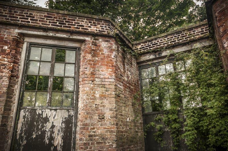 Abandoned Conservatory Stock Photo