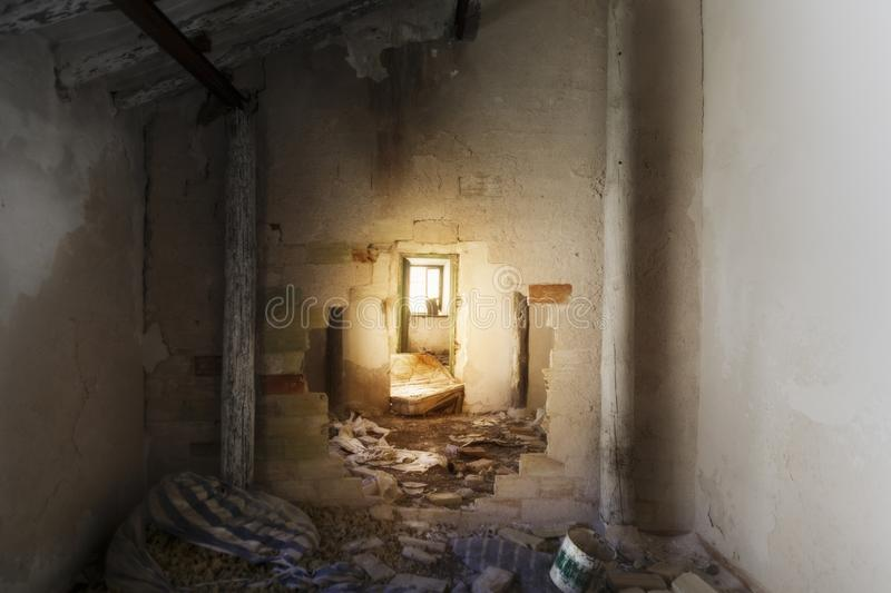 Abandoned country house in the south of Spain stock photos