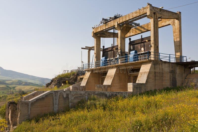 Abandoned Dam royalty free stock photos