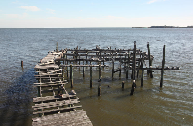 Download Abandoned Dock In Cedar Key, Florida Stock Photo - Image: 11878980