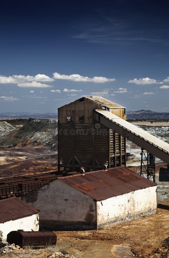 Abandoned Facilities Stock Image