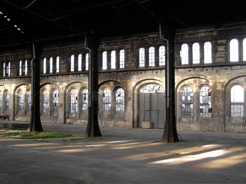 Download Abandoned factory stock photo. Image of turin, archeology - 6358310