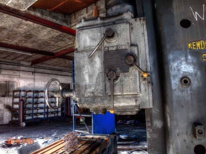 Abandoned factory royalty free stock photo