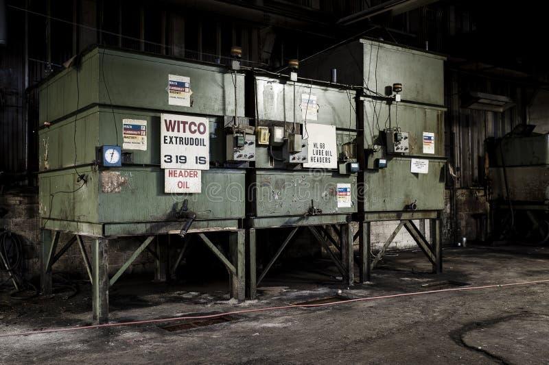 Abandoned Factory - Ferry Cap & Company - Cleveland, Ohio royalty free stock photos