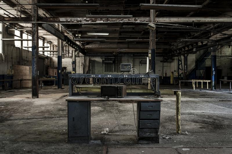 Download Abandoned Factory - Ferry Cap & Company - Cleveland, Ohio Stock Image - Image of exploration, building: 109541721